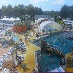 vue du complexe piscine.