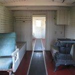 Intérieur de wagon