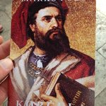 """the postcard you get when you visit""""Marco Polo's house"""" 20K Per person"""