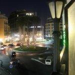 vista notturna terrazza
