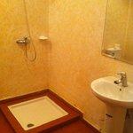 La salle de bains...
