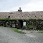 Blackhouse museum at Gearannan