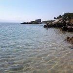 spiaggia bellissima con mare limpido