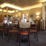 Un aperçu de l'intérieur photographié de notre table - 15 août 2013.
