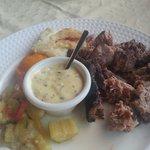 the sword fish steak