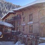 l'hôtel sous la neige