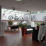 Bicycle showroom at the hotel