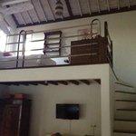 Obergeschoss mit Extrabett