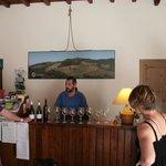 Reception - a wine tasting