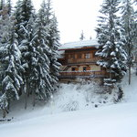 Chalet Dahu ski in, ski out to 'Folyeres' piste