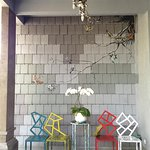 Cool open reception area