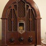 Rádio antigo - funcionando