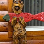 Our own cabin bear!