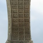 underside of arch at first landing of Panorama