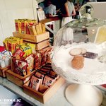 Some of the snacks that you can grab, FOC