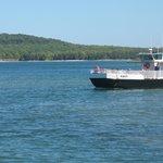Karfi passenger ferry over to Rock Island from Jackson Harbor