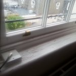 The window sill (and view beyond)