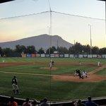 Baseball in a mountain setting