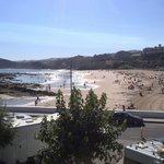 El Faro beach view.