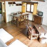 Interior casita de piedra