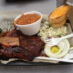Ribs and Brisket Platter