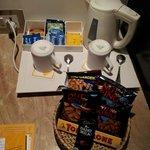 Snacks provided in Purple ribbon room