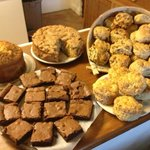 Cakes and homemade goodies baked fresh at the farm everyday