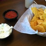 cole slaw with the chips was unexpected but good!