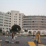 Hotellet set fra vest