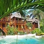 2 этаж таких домиков - Garden View Palapa Rooms