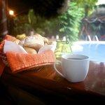 Morning Breakfast - stone baked bread rolls
