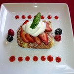 Lemon Cream Cheese French Toast