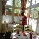 great breakfasts in lovely setting