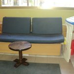 children's seating area...old sofa beds