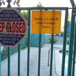 Pool closed until further notice 8/20/13