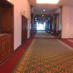 Área de acesso comum aos salões