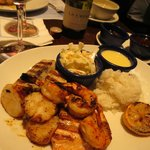 Another awesome fish & Shrimp dinner