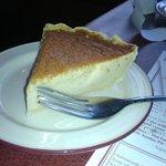 Amish-style Custard Pie at Mrs. Yoder's Kitchen in Mt. Hope, Ohio