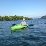 Kayaking on the Little Tennessee River
