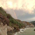 l'arcobaleno dopo la pioggia che spettacolo...