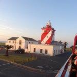 green point light house