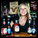 Kristen is your nightly Bartender always serving up the best drinks and smiles all night!!