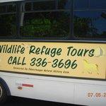 Name & contact info of bus tour