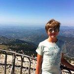 la vue du Mont Ventoux