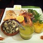 jolie assiette de poisson !!!