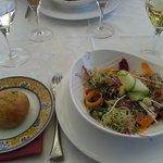 méli melo salade / pain olives
