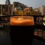 Guinness con vista sulla baia