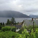 A short walk above the hotel - view over the fjord