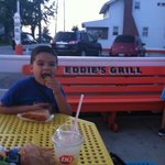 Loved the Hot Dog and Fries!