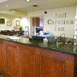 East Carolina Inn Greenville Lobby